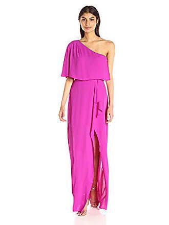 92c655642e Bcbgmaxazria BCBGMax Azria Womens Secha Long One Shoulder Evening Dress