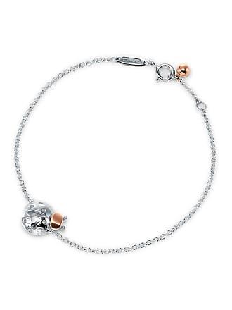 2ed55d0b5e2 Tiffany & Co. Return to Tiffany Love Bugs ladybug chain bracelet in silver  and 18k