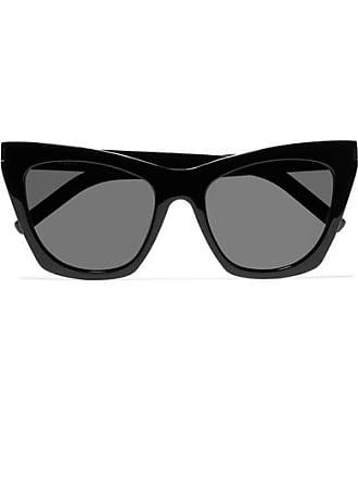 e5eff956fa4 Saint Laurent Kate Sonnenbrille Mit Cat-eye-rahmen Aus Azetat - Schwarz