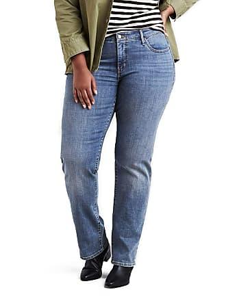 c5868f387 Levi s Calça Jeans 314 Shaping Straight Plus Size Azul Clara