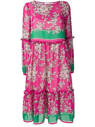 P.A.R.O.S.H. floral print dress - Pink