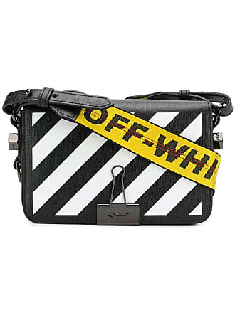 c18d6cd44856 Off-white Pink Womens Mini Striped Crossbody Bag - The Webster