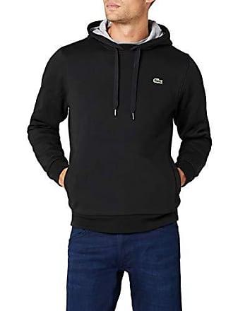 214dc5adcda Lacoste Sport - Sweat-shirt à Capuche Homme - Multicolore (Noir Argent Chine
