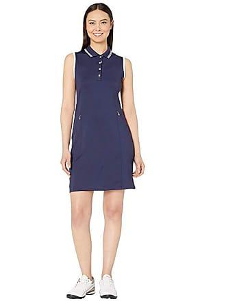 Callaway Sleeveless Golf Dress (Peacoat) Womens Dress