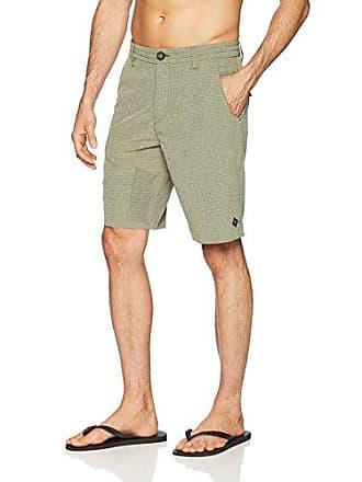 Rip Curl Mens Mf Global Entry 20 Boardwalk Hybrid Travel Stretch Shorts, Light Green, 31