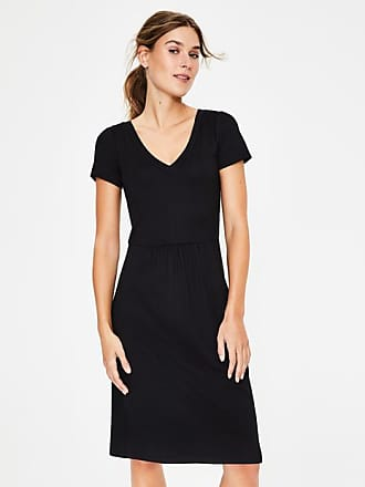 Boden Penelope Jersey Dress Black Women Boden