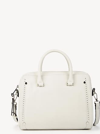 Sole Society Womens Jorie Satchel Studded In Color: Linen Bag Vegan Leather From Sole Society