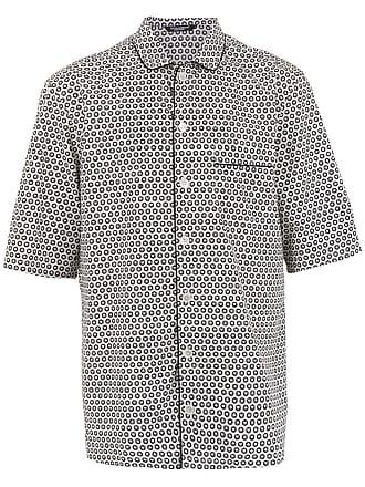 Dolce & Gabbana Camisa estampada mangas curtas - Branco