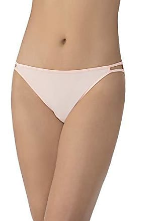 Vanity Fair Womens Illumination Body Shine String Bikini Panty 18108, Just Peachy, Large/7