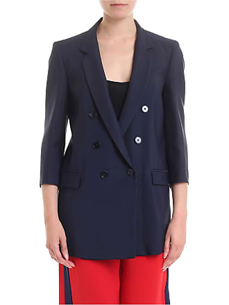 Pinko Interrogare lined jacket in blue