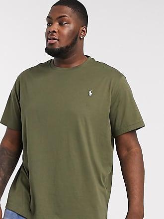 Polo Ralph Lauren Big & Tall - T-shirt verde oliva con logo