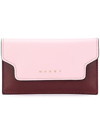 Marni key chain card case - Pink