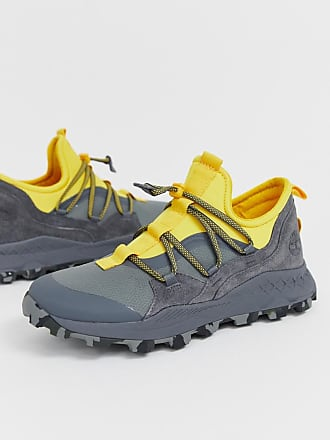 72ed584ee9686 Timberland Brooklyn hiker trainers in grey and yellow
