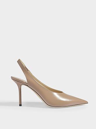 173ea732ece9 Jimmy Choo London Ivy 85 Pointed Slingbacks in Ballet Pink Liquid Leather