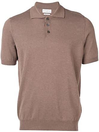 Ballantyne Camisa polo de tricô - Marrom