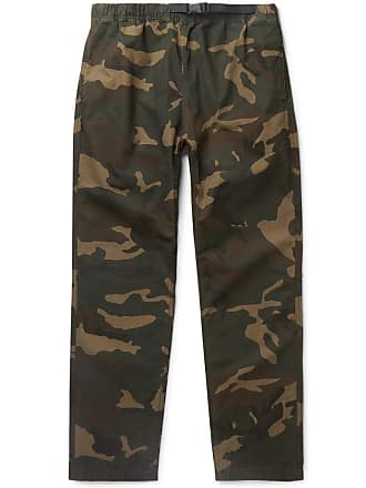 Carhartt Work in Progress Colton Camouflage-print Cotton-ripstop Trousers - Green