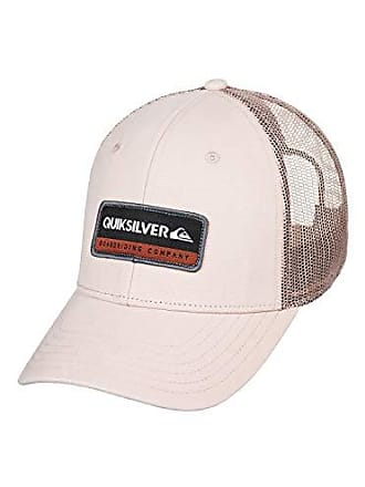 meet 58fa3 59447 Quiksilver Mens Rinsed Trucker HAT, Plage, 1SZ