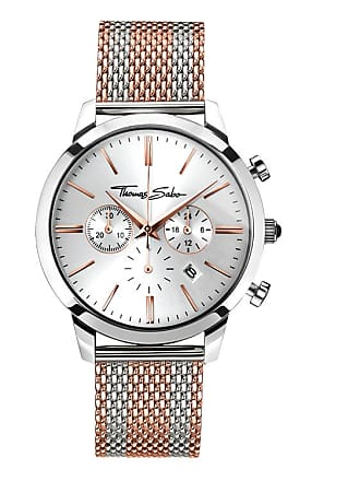 Thomas Sabo Thomas Sabo Mens Watch silver-coloured WA0287-283-201-42 MM