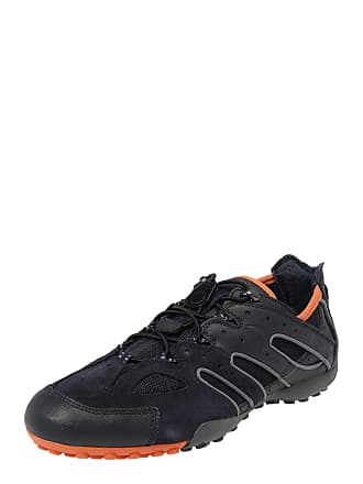bdab841098 Geox Sneaker Uomo Snake dunkelorange / schwarz
