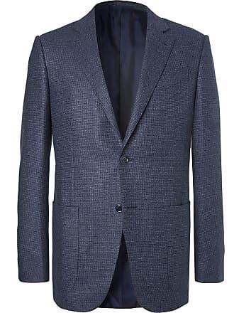 1bb375a4a6102e Ermenegildo Zegna Blue Slim-fit Milano Easy Birdseye Wool Blazer - Blue