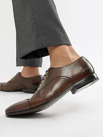 Ted Baker Murain oxford shoes in brown leather - Brown