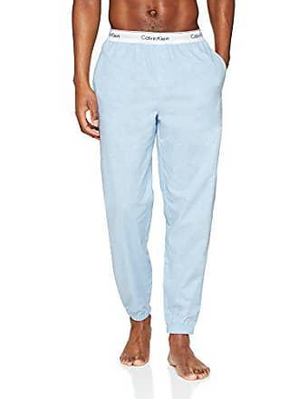 906bc9a3ff162 Calvin Klein Jogger Bas De Pyjama, Bleu (Chambray Heather 5ch), Large Homme