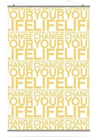 Inhabit Change Your Life Canvas Wall Art