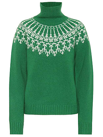 Tory Sport Fair Isle wool sweater
