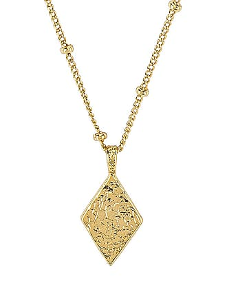 Gorjana Cortez Diamond Necklace in Metallic Gold