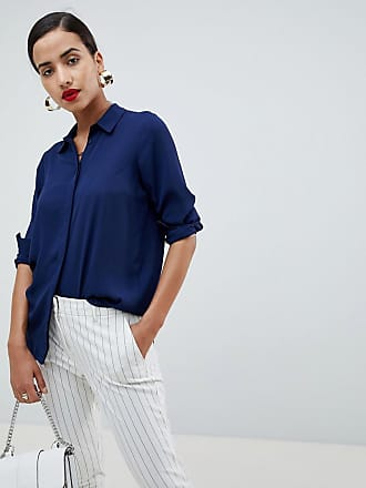 Asos soft long sleeve shirt - Blue