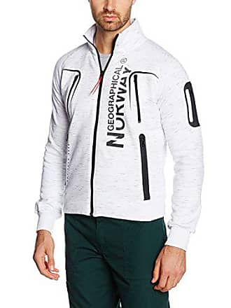 b1cd1593d043a8 Geographical Norway Herren Jacke Gantaga Men Weiß (White)
