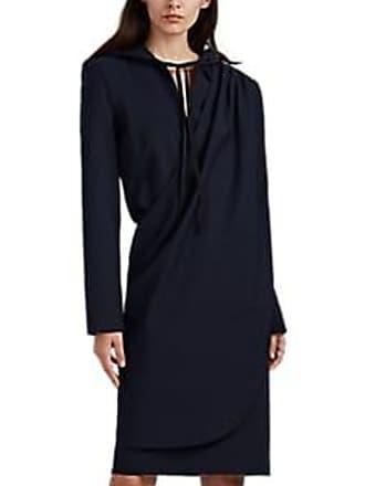 Unravel Womens Draped Hoodie Dress - Navy Size XS