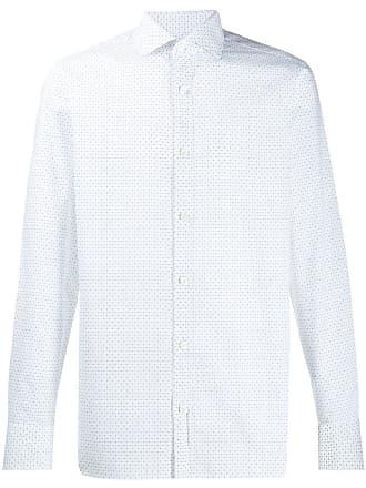 Ermenegildo Zegna all-over print shirt - White