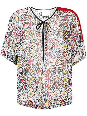 8pm floral print blouse - White