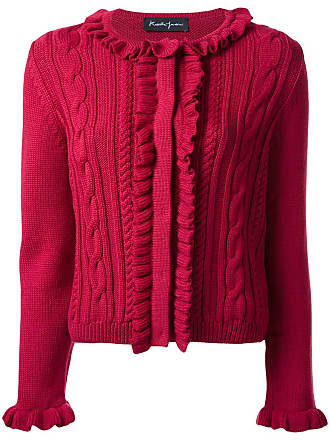 Rossella Jardini ruffled jumper - Red
