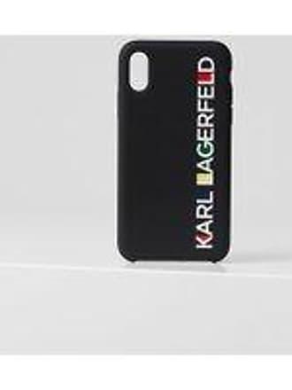 Karl Lagerfeld iPhone XS Bauhaus Logo Cover