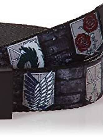Wide-Fits up to 42 Pant Size Buckle-Down Mens Web Belt Tattoo Johnny Fairies 1.5 Multicolor