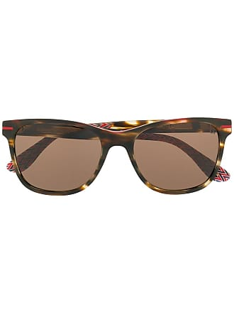 Etnia Barcelona Óculos de sol redondo com estampa - Marrom