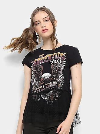 Colcci Fun Camiseta Infantil Colcci Estampada com Tule Feminina - Feminino afab53c537f