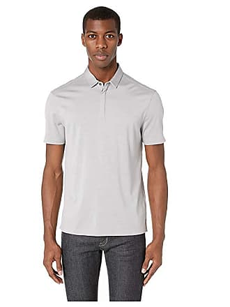 John Varvatos New Hampton Polo K3076V1 (Griffin Grey) Mens Clothing