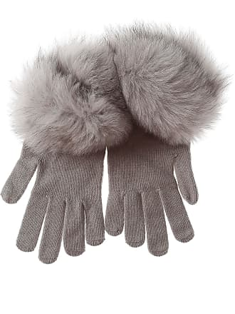 D.exterior Gloves for Women On Sale in Outlet, fog, Wool, 2017, III