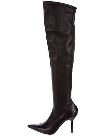46093836260 Tom Ford For Gucci F w 2003 Over-the-knee Stretch Leather Studded