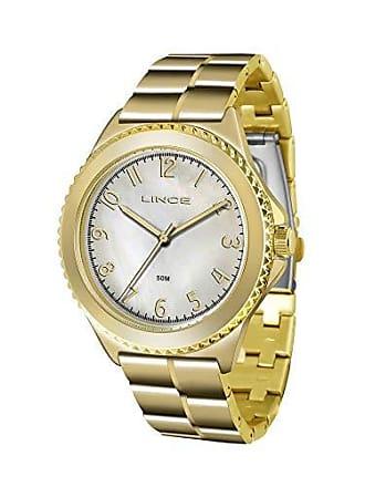 Lince Relógio Lince Feminino Ref: Lrg4429l B2kx Casual Dourado