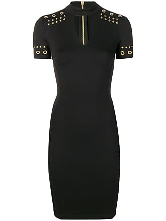 c6c73adf231 Versace Jeans Couture stud embellished dress - Black