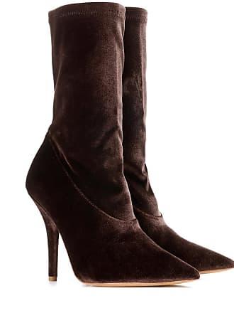 50ff8533ba1c2 Yeezy by Kanye West Velvet ankle boots (SEASON 5)