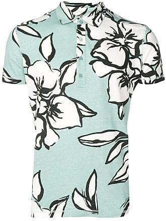 Majestic Filatures Camisa polo com estampa floral - Verde