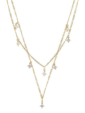 50fa5a78d9c3 Natalie B Jewelry Esme Layered Necklace in Metallic Gold