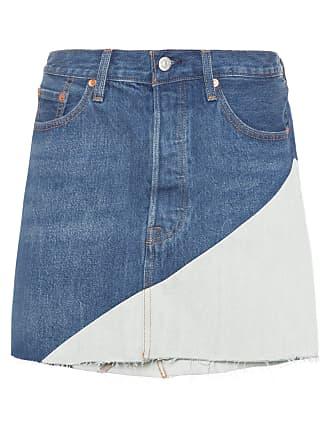 304f757e2b Azul Saias Jeans  27 Produtos   com até −71%