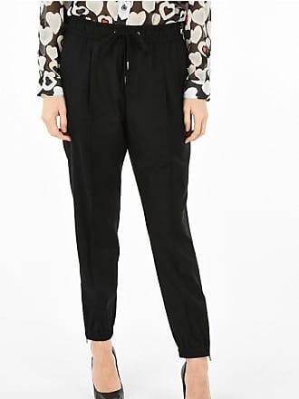 Dolce & Gabbana virgin wool drawstring waist pants Größe 46