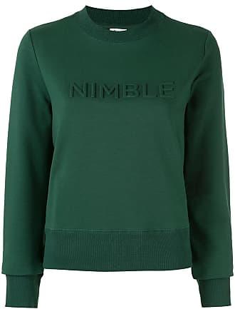 Nimble Activewear Moletom com logo em relevo - Verde